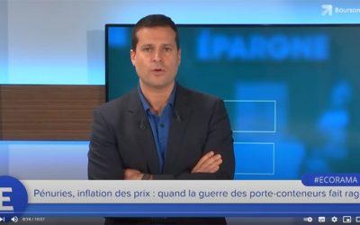 PÉNURIE DE PORTE-CONTENEURS AU NIVEAU MONDIAL
